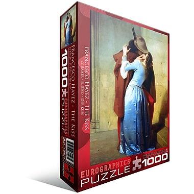 The Kiss by Francesco Hayez Puzzle, 1000 Pieces