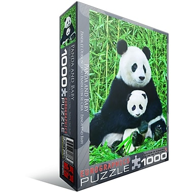 Panda and Baby Puzzle, 1000 Pieces