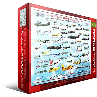 History Canadian Aviation Puzzle, 1000 Pieces