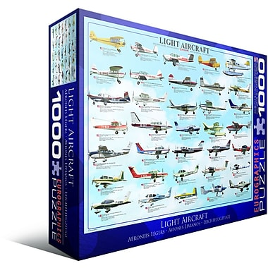 General Light Aviation Puzzle, 1000 Pieces