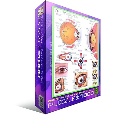 Human Body (The Eye) Puzzle, 1000 Pieces