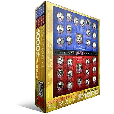 Civil War Generals Puzzle, 1000 Pieces