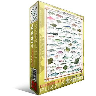 Mediterranean Fish Puzzle, 1000 Pieces