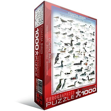Coastal Birds Puzzle, 1000 Pieces