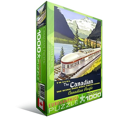 CP Rail The Canadian Puzzle, 1000 Pieces