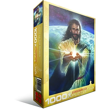 Christian Collection Light of the World by Nathan Greene Puzzle, 1000 Pieces