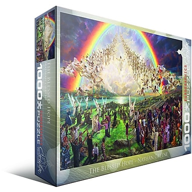 Christian Collection The Blessed Hope by Nathan Greene Puzzle, 1000 Pieces
