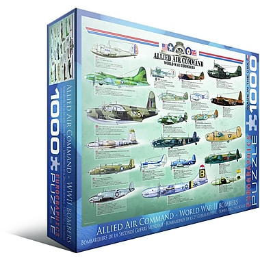 Allied Air Command WWII Bomber Puzzle, 1000 Pieces