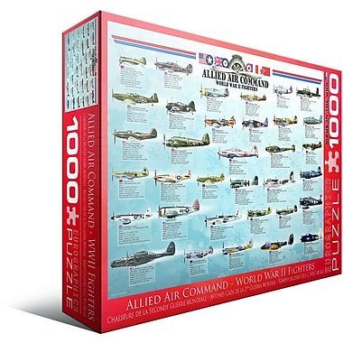 Allied Air Command WWII Fighter Puzzle, 1000 Pieces