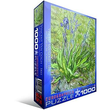Iris by Vincent Van Gogh Puzzle, 1000 Pieces