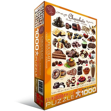 Chocolate Puzzle, 1000 Pieces