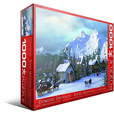 Rocky Mountain Christmas Puzzle, 1000 Pieces