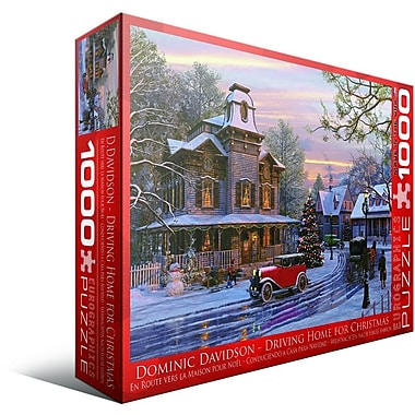 Driving Home for Christmas Puzzle, 1000 Pieces