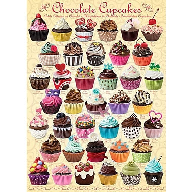 Chocolate Cupcakes Puzzle, 1000 Pieces