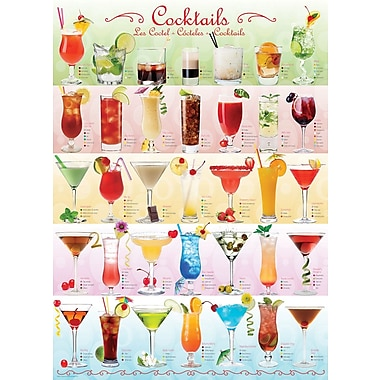 Cocktails Puzzle, 1000 Pieces