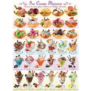 Ice Cream Flavours Puzzle, 1000 Pieces