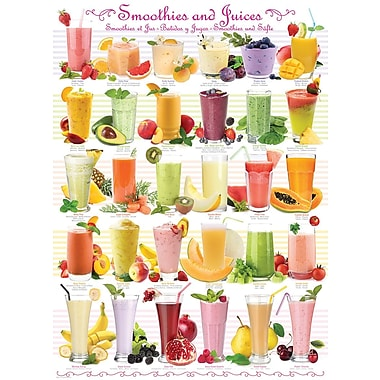 Smoothies & Juices Puzzle, 1000 Pieces