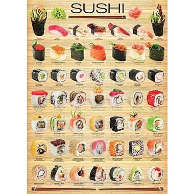 Sushi Puzzle, 1000 Pieces