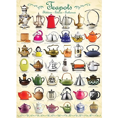 Teapots Puzzle, 1000 Pieces