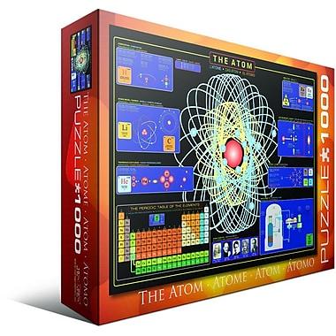 The Atom Puzzle, 1000 Pieces