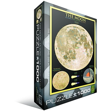The Moon Puzzle, 1000 Pieces