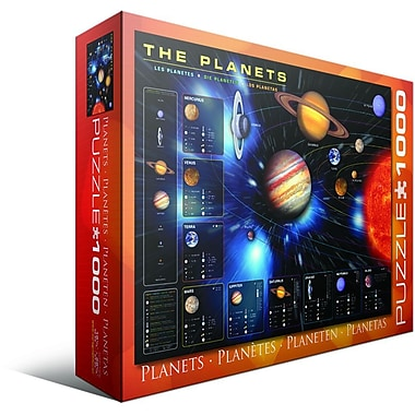 The Planets Puzzle, 1000 Pieces