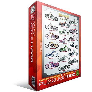 Choppers Puzzle, 1000 Pieces