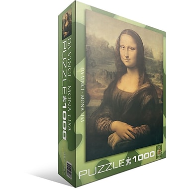 Mona Lisa by Leonardo Da Vinci Puzzle, 1000 Pieces