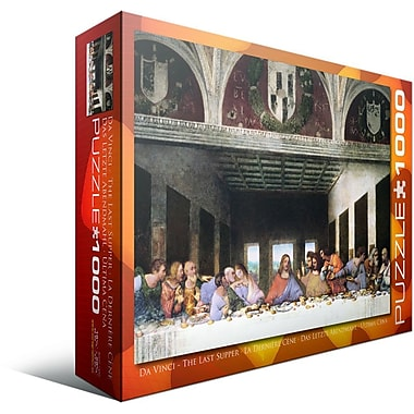 The Last Supper by Leonard Da Vinci Puzzle, 1000 Pieces