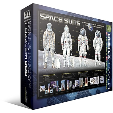 Space Suits Puzzle, 1000 Pieces