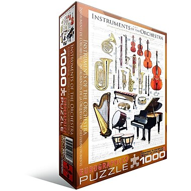 Instruments of the Orchestra Puzzle, 1000 Pieces