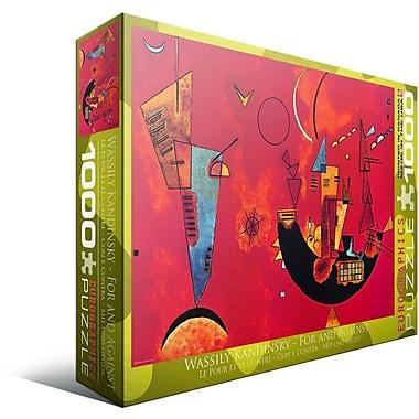 Mit und Gegen by Kandinsky Puzzle, 1000 Pieces