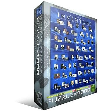 Famous Inventors Puzzle, 1000 Pieces