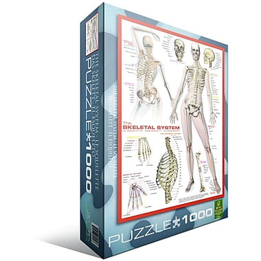 Skeletal System (Human Body) Puzzle, 1000 Pieces