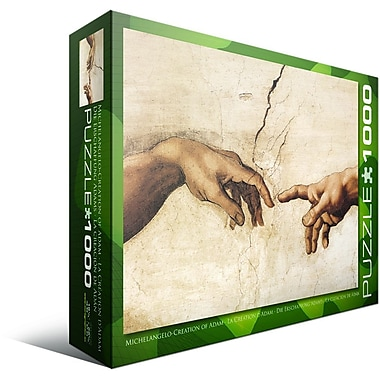 Creation of Adam by Michaelangelo Puzzle, 1000 Pieces