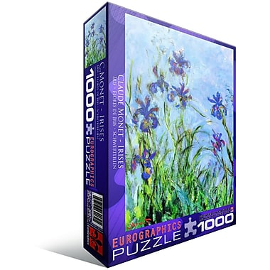 Irises by Claude Monet Puzzle, 1000 Pieces