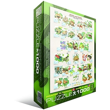 Frogs Puzzle, 1000 Pieces