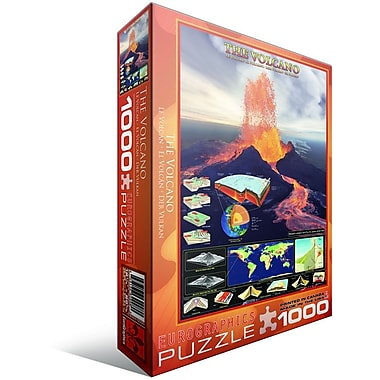The Volcano Puzzle, 1000 Pieces
