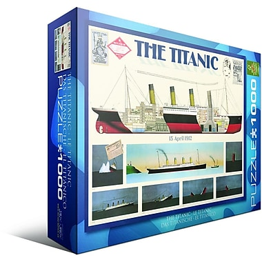 Titanic Puzzle, 1000 Pieces