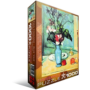 Blue Vase by Cezanne Puzzle, 1000 Pieces