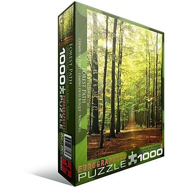 Forest Path Puzzle, 1000 Pieces