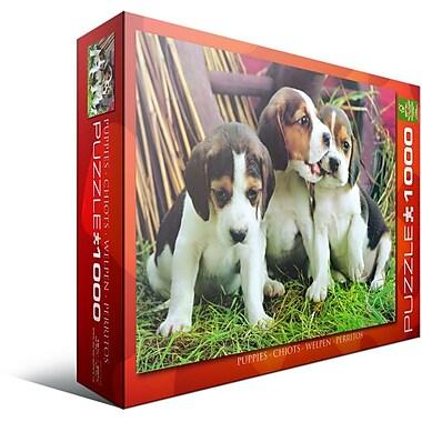 Puppies Puzzle, 1000 Pieces