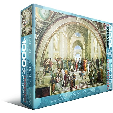 School of Athens by Raphael Puzzle, 1000 Pieces
