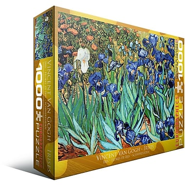 Irises by Vincent Van Gogh Puzzle, 1000 Pieces