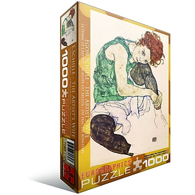 The ist's Wife by Egon Schiele Puzzle, 1000 Pieces