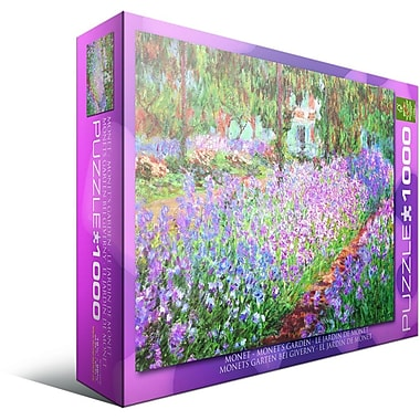 The ist's Garden by Claude Monet Puzzle, 1000 Pieces