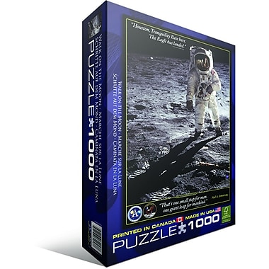 Walk on The Moon Puzzle, 1000 Pieces