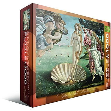 Birth of Venus by Botticelli Puzzle, 1000 Pieces