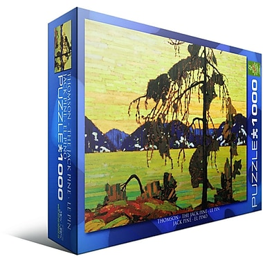 Jack Pine by Tom Thomson Puzzle, 1000 Pieces