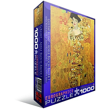 Portrait of Adele Bloch-Bauer by Gustav Klimt Puzzle, 1000 Pieces